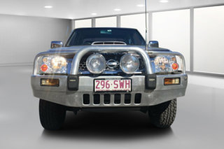 2013 Nissan Navara D22 Series 5 ST-R (4x4) Silver 5 Speed Manual Dual Cab Pick-up