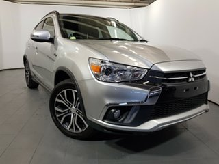 2018 Mitsubishi ASX XC MY19 ES 2WD ADAS Silver 6 Speed Constant Variable Wagon.