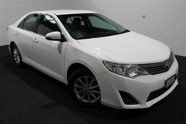 Used Toyota Camry ASV50R Altise, 2015 Toyota Camry ASV50R Altise Diamond White 6 Speed Sports Automatic Sedan