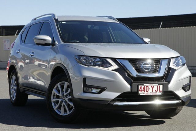 Used Nissan X-Trail T32 Series II ST-L X-tronic 2WD, 2018 Nissan X-Trail T32 Series II ST-L X-tronic 2WD Brilliant Silver 7 Speed Constant Variable Wagon