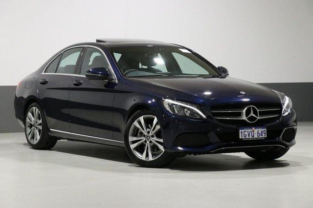 Used Mercedes-Benz C200 205 MY18 , 2018 Mercedes-Benz C200 205 MY18 Blue 9 Speed Automatic G-Tronic Sedan