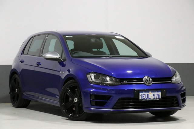 Used Volkswagen Golf AU MY15 R, 2015 Volkswagen Golf AU MY15 R Blue 6 Speed Direct Shift Hatchback