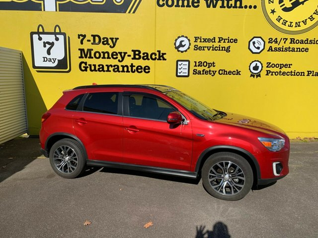 Used Mitsubishi ASX XC MY17 XLS 2WD, 2016 Mitsubishi ASX XC MY17 XLS 2WD Red/Black 6 Speed Constant Variable Wagon