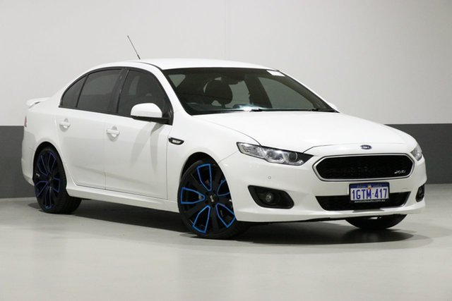 Used Ford Falcon FG X XR6, 2014 Ford Falcon FG X XR6 White 6 Speed Auto Seq Sportshift Sedan