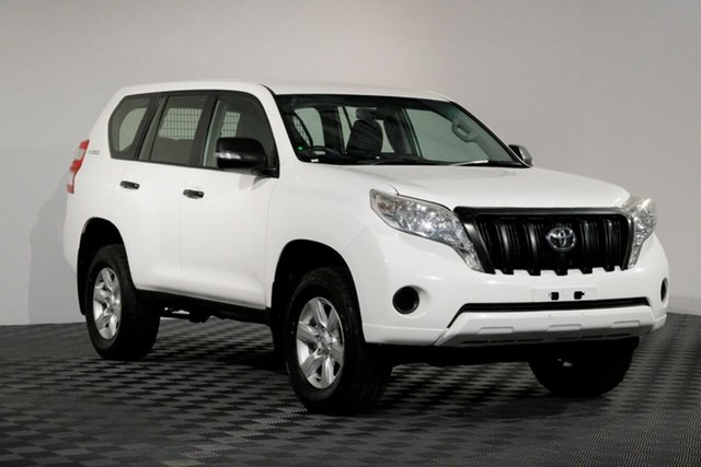 Used Toyota Landcruiser Prado KDJ150R MY14 GX, 2014 Toyota Landcruiser Prado KDJ150R MY14 GX White 5 speed Automatic Wagon
