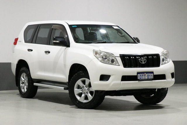 Used Toyota Landcruiser Prado KDJ150R 11 Upgrade GX (4x4), 2011 Toyota Landcruiser Prado KDJ150R 11 Upgrade GX (4x4) White 5 Speed Sequential Auto Wagon