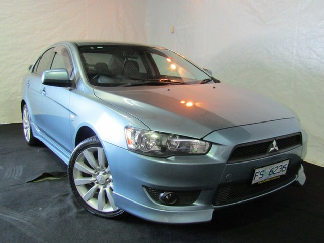 Used Mitsubishi Lancer CJ MY08 VR-X, 2008 Mitsubishi Lancer CJ MY08 VR-X Blue 5 Speed Manual Sedan