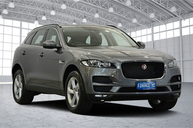 Used Jaguar F-PACE X761 MY18 35t AWD S, 2018 Jaguar F-PACE X761 MY18 35t AWD S Grey 8 Speed Sports Automatic Wagon