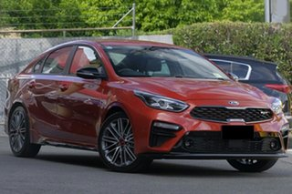 2020 Kia Cerato BD MY21 GT DCT Sunset Orange 7 Speed Sports Automatic Dual Clutch Sedan