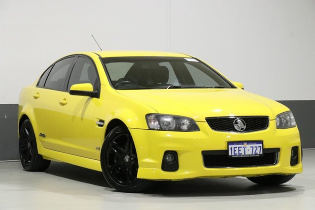 Used Holden Commodore VE II MY12 SS, 2012 Holden Commodore VE II MY12 SS Devil Yellow 6 Speed Automatic Sedan