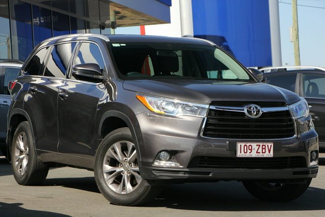 Used Toyota Kluger GSU55R GXL AWD, 2015 Toyota Kluger GSU55R GXL AWD Grey 6 Speed Sports Automatic Wagon
