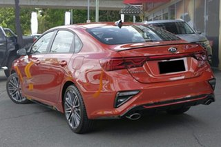 2020 Kia Cerato BD MY21 GT DCT Sunset Orange 7 Speed Sports Automatic Dual Clutch Sedan.