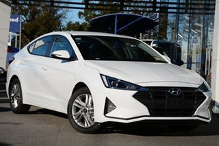 2019 Hyundai Elantra AD.2 MY19 Active Polar White 6 Speed Sports Automatic Sedan.