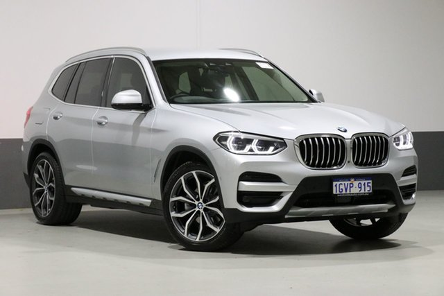 Used BMW X3 G01 MY18.5 xDrive 30I, 2018 BMW X3 G01 MY18.5 xDrive 30I Silver 8 Speed Automatic Wagon