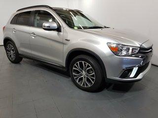 2018 Mitsubishi ASX XC MY19 ES 2WD ADAS Silver 6 Speed Constant Variable Wagon