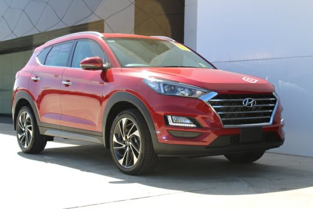 Demo Hyundai Tucson TLE3 MY19 Special Edition AWD, 2018 Hyundai Tucson TLE3 MY19 Special Edition AWD Fiery Red 8 Speed Sports Automatic Wagon