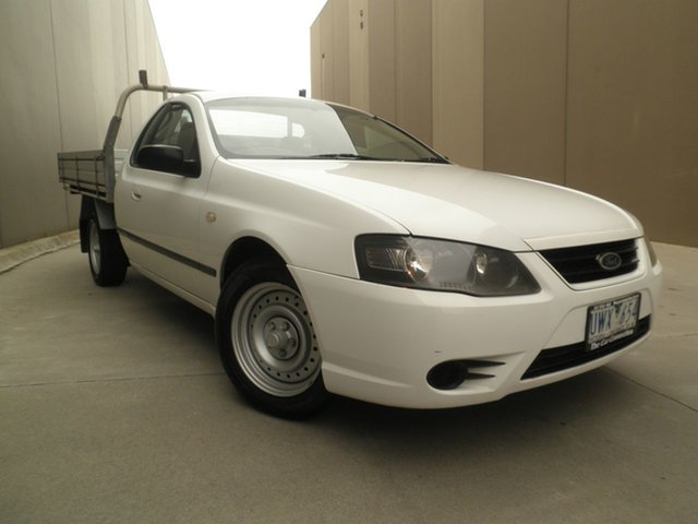 Used Ford Falcon BF Mk II XL Super Cab, 2007 Ford Falcon BF Mk II XL Super Cab White 4 Speed Sports Automatic Cab Chassis