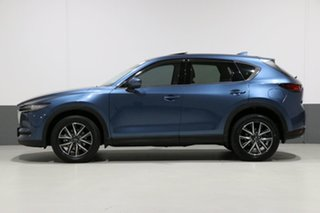 2017 Mazda CX-5 MY17 Akera (4x4) Blue 6 Speed Automatic Wagon