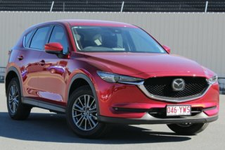 2019 Mazda CX-5 KF4WLA Maxx SKYACTIV-Drive i-ACTIV AWD Sport Red 6 Speed Sports Automatic Wagon.