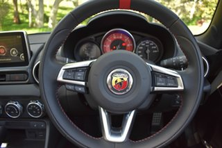 2017 Abarth 124 348 Spider White 6 Speed Sports Automatic Roadster