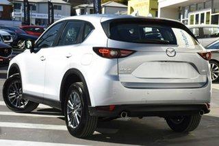 2020 Mazda CX-5 KF2W7A Maxx SKYACTIV-Drive FWD Sport Silver 6 Speed Sports Automatic Wagon.