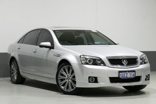 2013 Holden Caprice WN V Silver 6 Speed Auto Active Sequential Sedan.