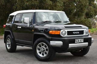 2012 Toyota FJ Cruiser GSJ15R Black 5 Speed Automatic Wagon.