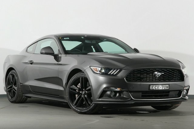 Used Ford Mustang FM Fastback SelectShift, 2016 Ford Mustang FM Fastback SelectShift Grey 6 Speed Sports Automatic Fastback