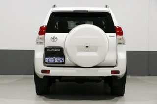 2013 Toyota Landcruiser Prado KDJ150R 11 Upgrade GXL (4x4) White 5 Speed Sequential Auto Wagon