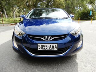 2012 Hyundai Elantra MD Elite Blue 6 Speed Sports Automatic Sedan.