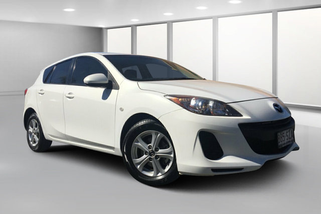 Used Mazda 3 BL Series 2 MY13 Neo, 2013 Mazda 3 BL Series 2 MY13 Neo White 5 Speed Automatic Hatchback