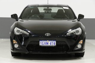 2014 Toyota 86 ZN6 MY14 GTS Black 6 Speed Manual Coupe.