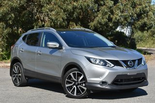 2015 Nissan Qashqai J11 TI Silver 1 Speed Constant Variable Wagon.