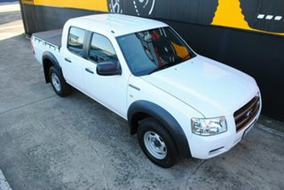 2008 Ford Ranger PJ XL Crew Cab 4x2 Hi-Rider Cool White 5 Speed Automatic Utility