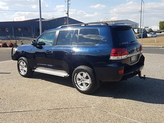 2015 Toyota Landcruiser VDJ200R MY16 GXL (4x4) Onyx Blue 6 Speed Automatic Wagon