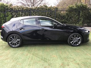 2019 Mazda 3 BP2H7A G20 SKYACTIV-Drive Touring Jet Black 6 Speed Sports Automatic Hatchback.