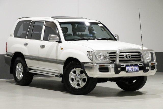 Used Toyota Landcruiser UZJ100R VX (4x4), 2006 Toyota Landcruiser UZJ100R VX (4x4) White 5 Speed Automatic Wagon