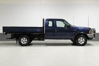 2002 Ford F250 RM XL Blue 5 Speed Manual Cab Chassis