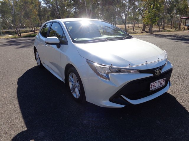 Demo Toyota Corolla Mzea12R Ascent Sport, 2018 Toyota Corolla Mzea12R Ascent Sport Crystal Pearl 10 Speed Constant Variable Hatchback