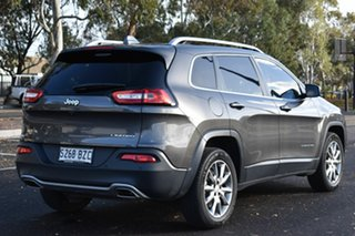2017 Jeep Cherokee KL MY17 Limited Granite Crystal 9 Speed Sports Automatic Wagon.