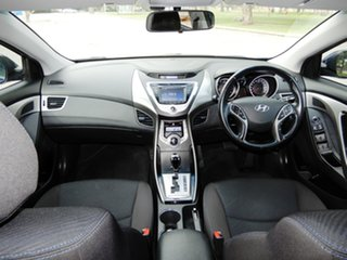 2012 Hyundai Elantra MD Elite Blue 6 Speed Sports Automatic Sedan