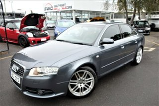 2007 Audi A4 B7 S Line Tiptronic Quattro Grey 6 Speed Sports Automatic Sedan.