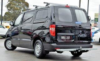 2018 Hyundai iLOAD TQ4 MY19 Timeless Black 5 Speed Automatic Van.