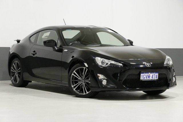 Used Toyota 86 ZN6 MY14 GTS, 2014 Toyota 86 ZN6 MY14 GTS Black 6 Speed Manual Coupe