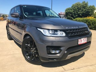 2016 Land Rover Range Rover Sport L494 16MY SDV6 CommandShift SE Grey 8 Speed Sports Automatic Wagon.