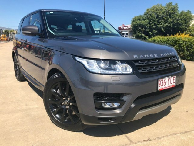 Used Land Rover Range Rover Sport L494 16MY SDV6 CommandShift SE, 2016 Land Rover Range Rover Sport L494 16MY SDV6 CommandShift SE Grey 8 Speed Sports Automatic Wagon