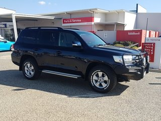 2015 Toyota Landcruiser VDJ200R MY16 GXL (4x4) Onyx Blue 6 Speed Automatic Wagon.