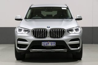 2018 BMW X3 G01 MY18.5 xDrive 30I Silver 8 Speed Automatic Wagon.