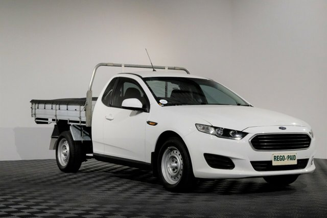 Used Ford Falcon FG X Super Cab, 2015 Ford Falcon FG X Super Cab Winter White 6 speed Automatic Cab Chassis
