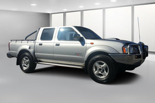2013 Nissan Navara D22 Series 5 ST-R (4x4) Silver 5 Speed Manual Dual Cab Pick-up.